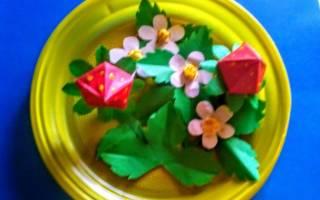 Как сплести клубничку из бумаги: расскажем как сделать клубнику просто и быстро