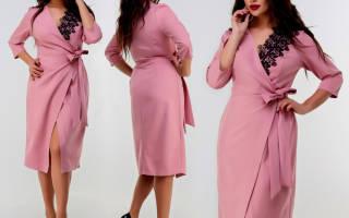 Как сшить платье-халат с запахом: выкройка, раскрой, пошив своими руками
