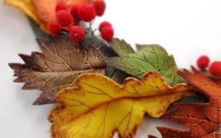Осенние листья своими руками: оригами своими руками