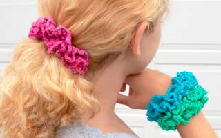 Резинка для волос своими руками: схемы и описание