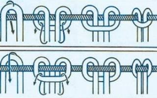 Узлы макраме: квадратный, двойной плоский и схемы для начинающих