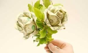 Букет из денег своими руками: создание оригинального подарка