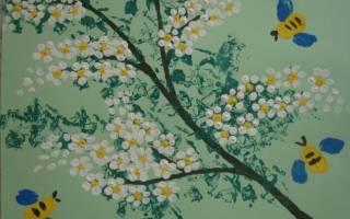 Аппликации на тему весна: варианты из ватных дисков, из салфеток и из цветной бумаги с фото-подборкой