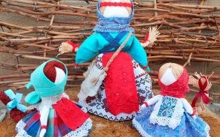 Мастер класс по куклам своими руками: тильды и обереги