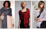 С чем носить палантин: разные цвета, текстуры и сочетания