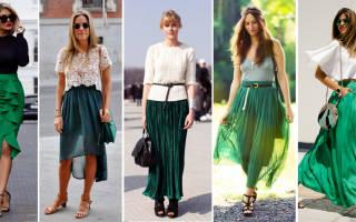 С чем одеть голубую юбку: варианты верха, обуви, модные образы